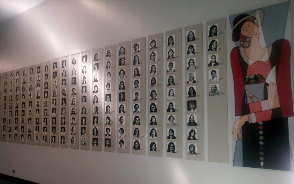 Galeria Histórica das Deputadas Federais (1933-2011), localizada na Câmara dos Deputados.