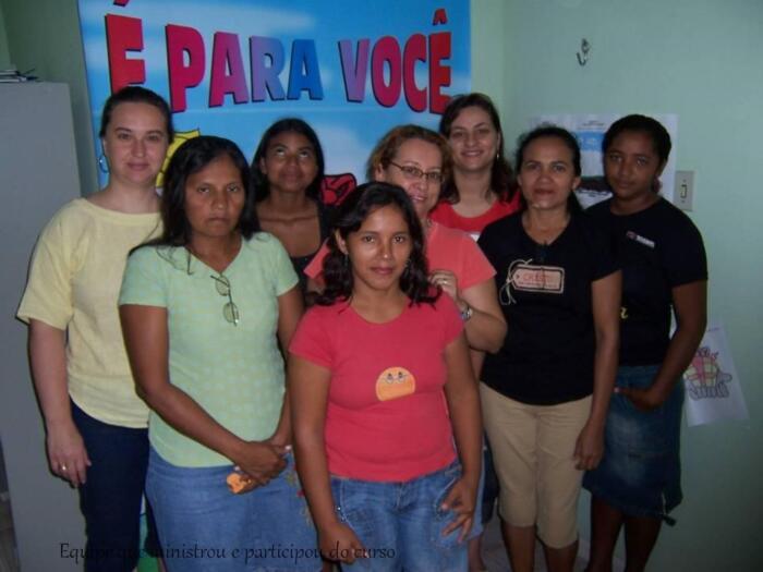 I Treinamento de Educadores Sociais – Belém 2007