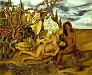 dois-nus-num-bosque-frida-kahlo