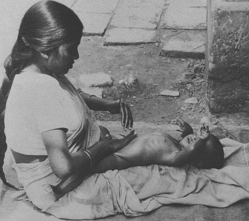 A massagem Shantala